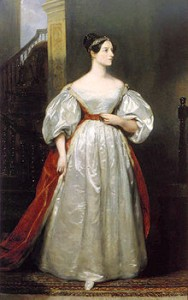 Ada Lovelace (Picture sourced from Wikipedia)