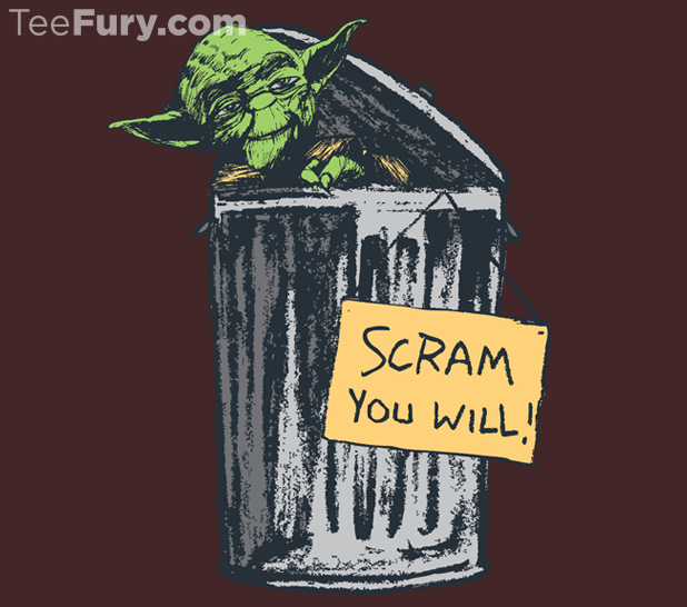 Who wouldn't love Yoda the Grouch?