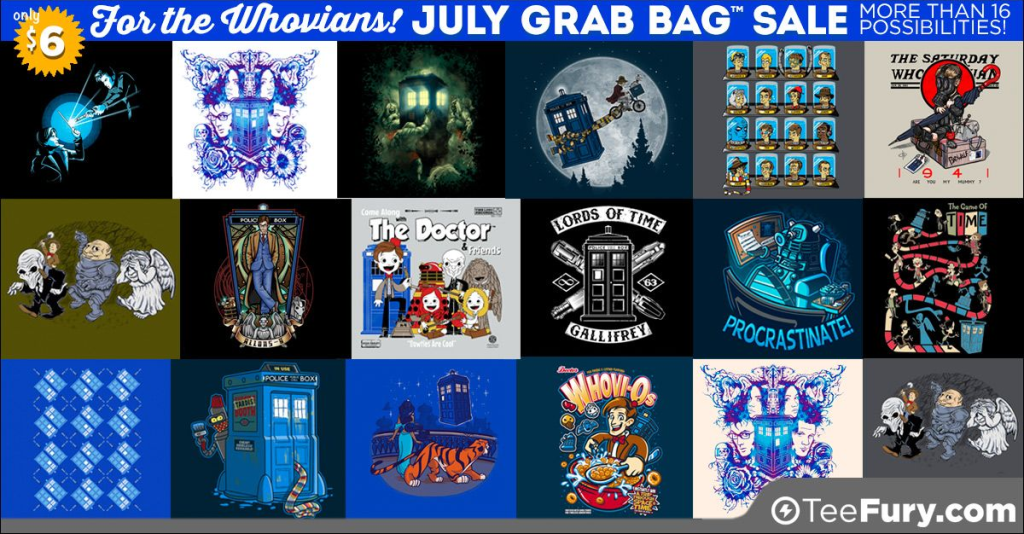 Whovian Grab Bag