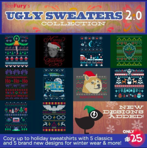 TeeFury Ugly Sweater