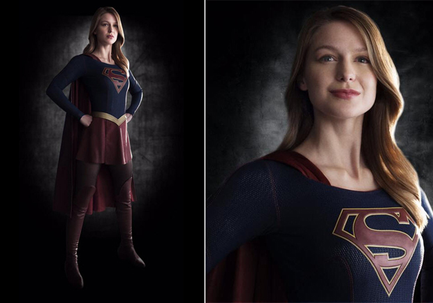 "Melissa Benoist as ""Supergirl."" CBS/WARNER BROS. TV"